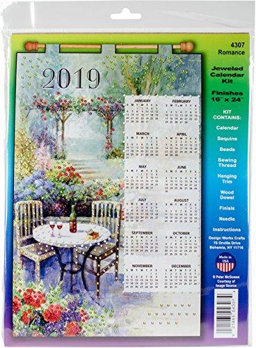 Romance 2019 Felt Calendar