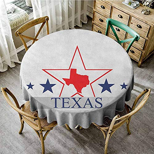 Rank-T Round Tablecloth Brown Pattern 55