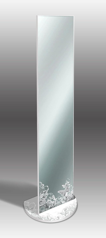 Specchio da terra elegant 40x160 cm MIRROR ORIGINAL BUTTERFLY Lupia 8016123986253