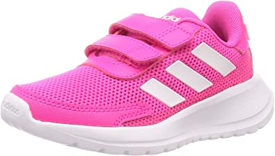 adidas Performance Tensaur Run C Trainers Girls Pink/White Low Top Trainers Shoes