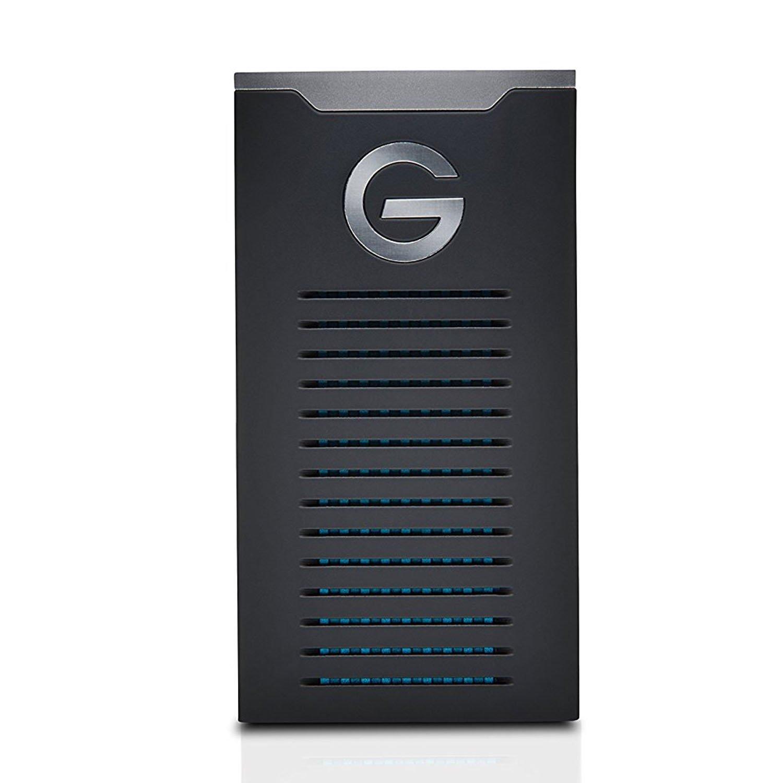 G-Technology 1TB G-Drive mobile SSD R-Series - USB-C connectivity (USB 3.1 Gen 2) - 0G06053