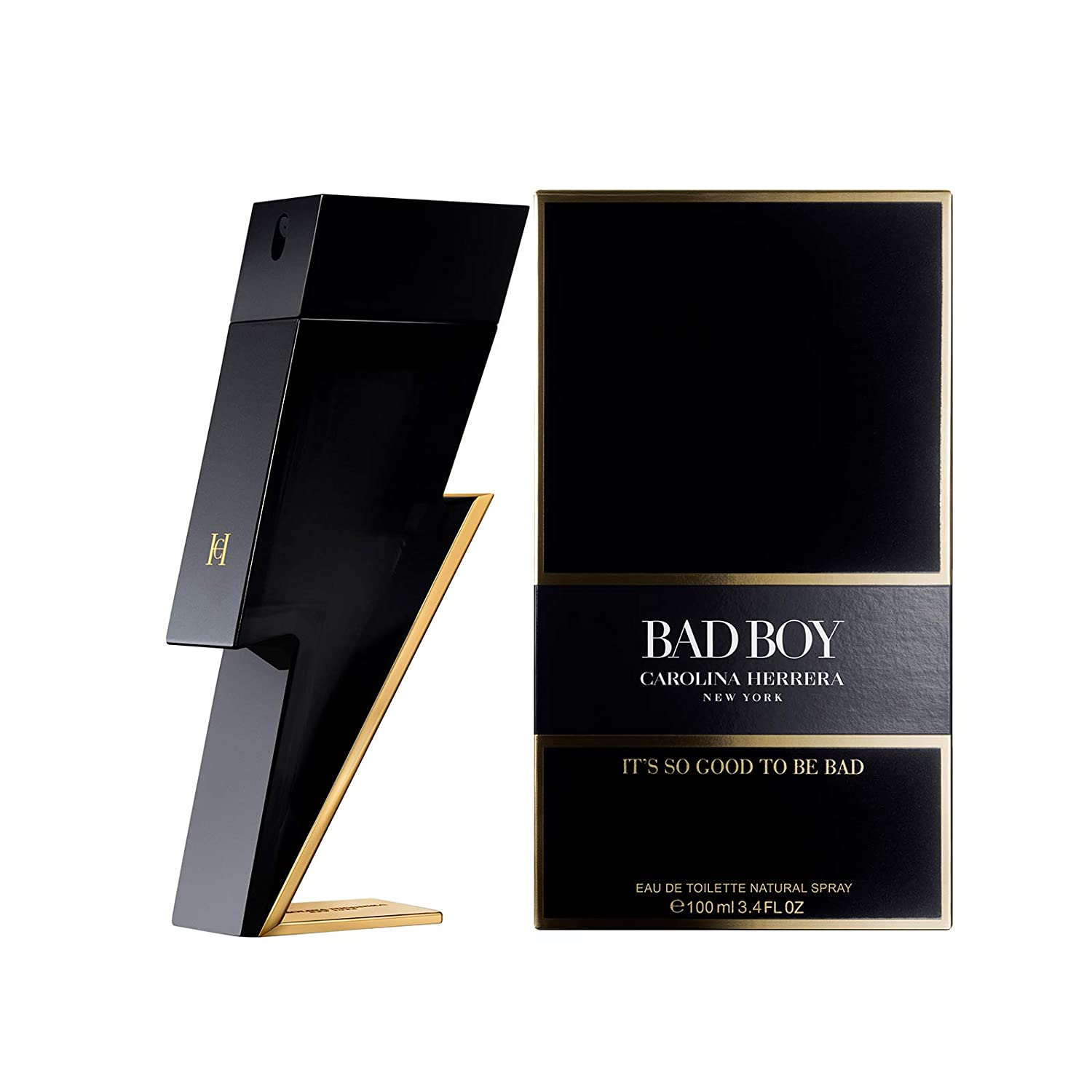Carolina Herrera Bad Boy Edp Vapo, Black - 100 ml: Amazon.es