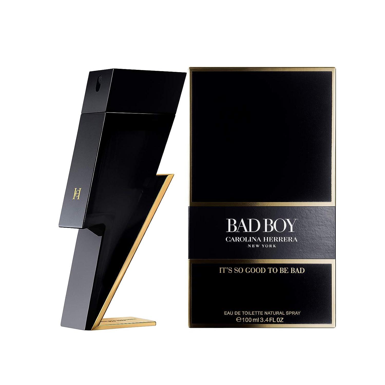 Carolina Herrera Bad Boy Edp Vapo, Black - 100 ml: Amazon.es