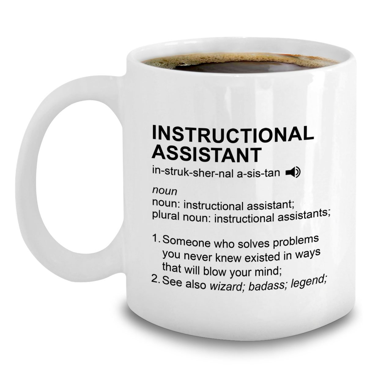 Amazon Instructional Assistant Gifts Coffee Mug For