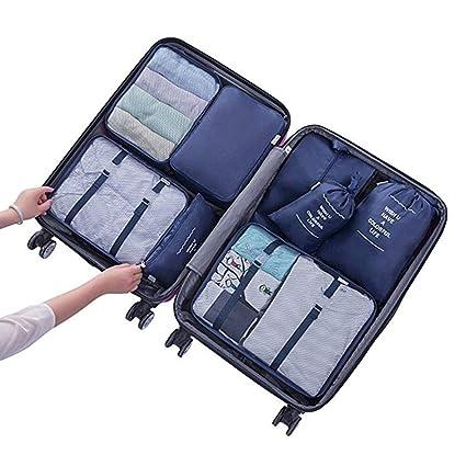 Bolsas almacenamiento de viaje Conjunto Organizador de ...