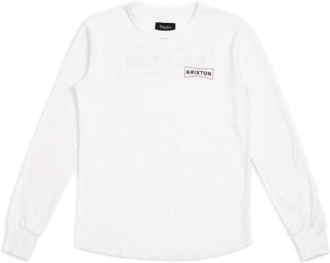 Brixon - Camiseta de manga larga para hombre blanco XXL: Amazon.es: Ropa y accesorios