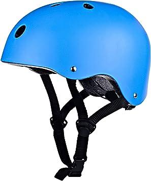 IMPORX Casco de skateboard con diadema ajustable adecuado para ...