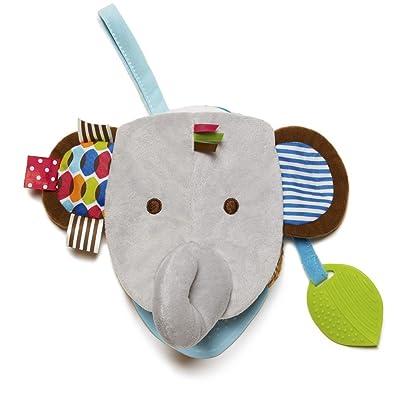 Skip Hop Bandana Buddies Soft Activity Puppet Book, Elephant