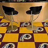 Fanmats Washington Redskins Team Carpet Tiles