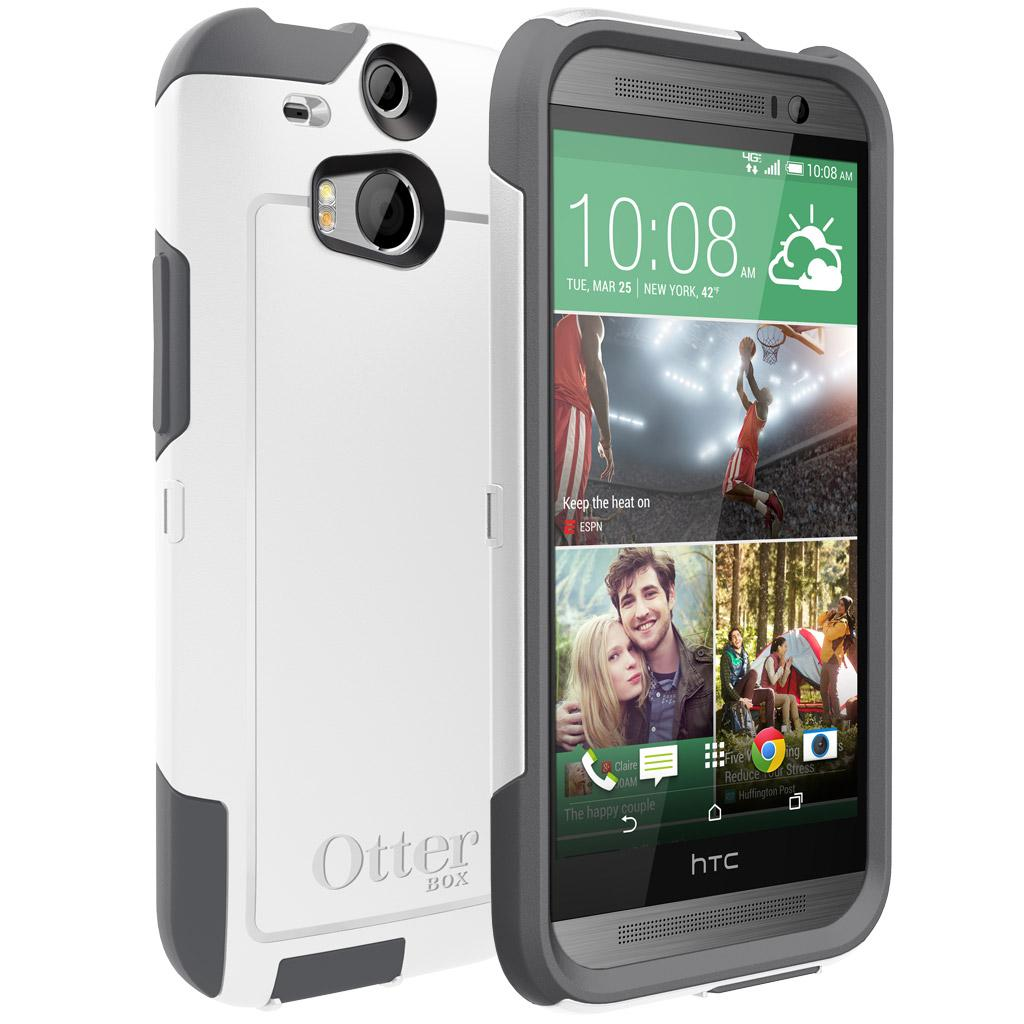 brand new d06ce a6fc4 OtterBox Commuter Series for HTC One M8 - Retail Packaging - Black