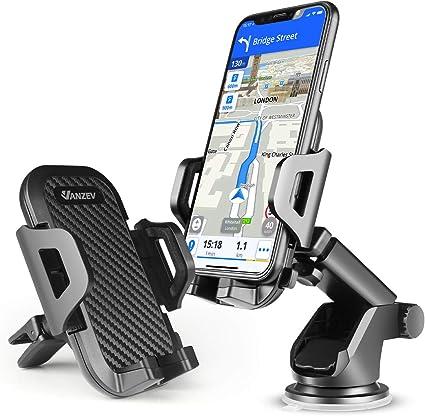 Vanzev Handyhalterung Auto Lüftung Saugnapf Handy Halterung 3 In 1 Universale Kfz Handyhalter Für Iphone