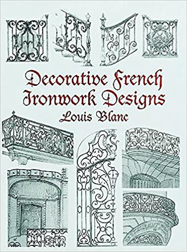 Decorative French Ironwork Designs Dover Jewelry And Metalwork Louis Blanc 9780486404875 Amazon Books