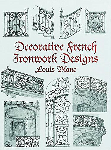 Metals Dover - Decorative French Ironwork Designs (Dover Jewelry and Metalwork)