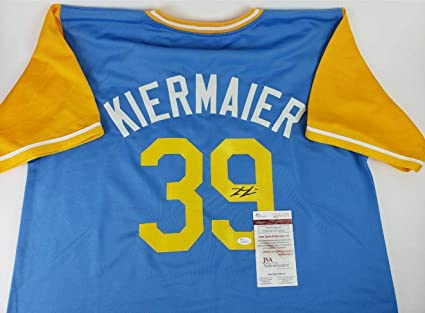 buy popular 434a3 13990 Kevin Kiermaier Tampa Bay Rays Signed