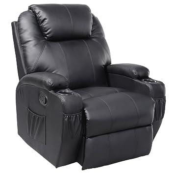 FDS Giratorio de Silla de Masaje sillón reclinable sofá de ...