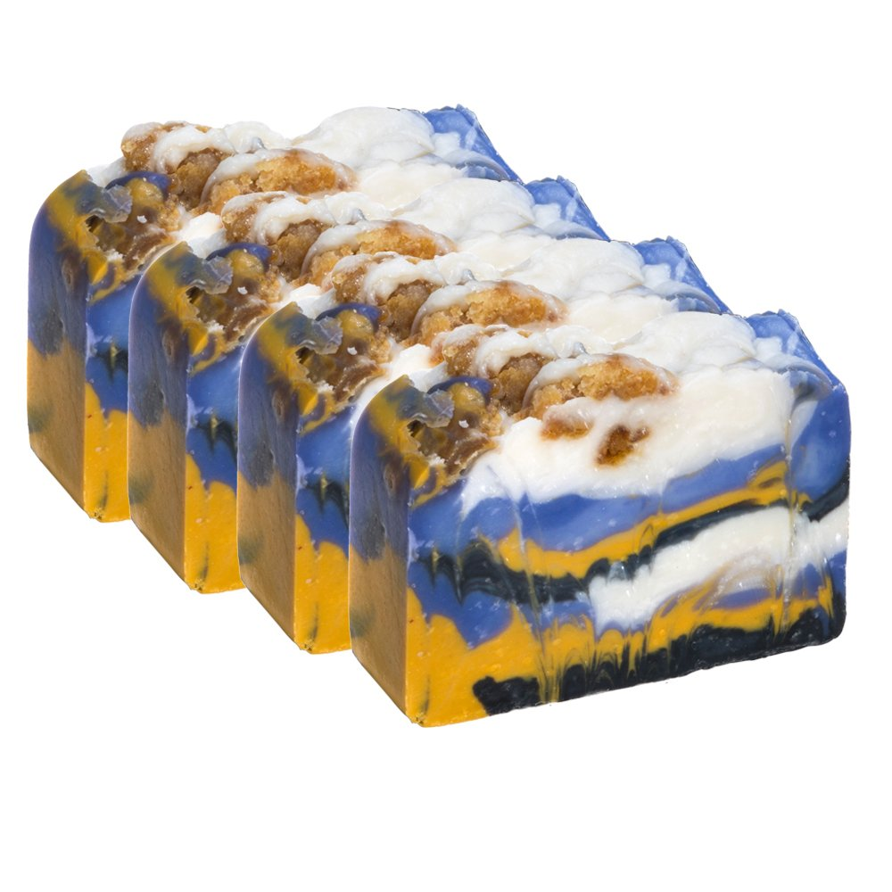 White Tea and Ginger Soap Bar -Handmade Organic Herbal Bar with Therapeutic Essential Oils. Natural Moisturizing Body Soap for Skin and Face. With Shea Butter, Coconut Oil Falls River Soap Company