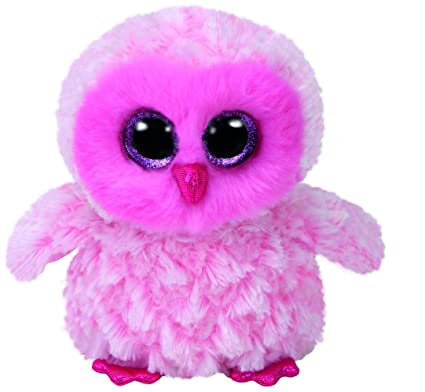 cac2437a867 Image Unavailable. Image not available for. Color  Ty Beanie Babies Boos  36846 Twiggy 6 quot  Reg the Pink Owl Boo