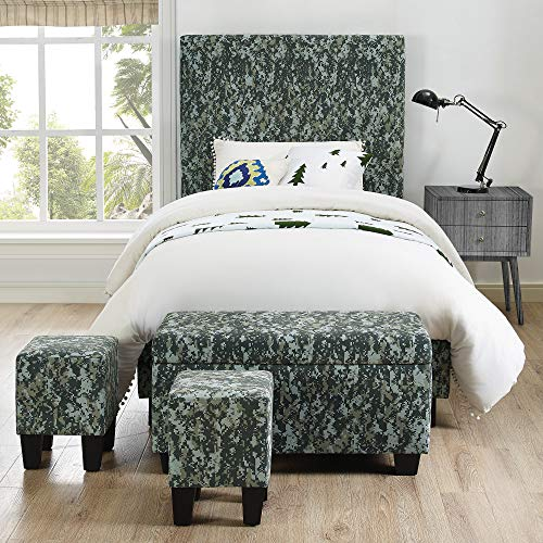 An item of Picket House Furnishings Jett Twin Size Platform Bed with Bonus ()