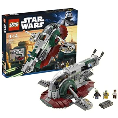 Lego Star Wars Slave I 1 8097 NEW With 3 Minifigures Boba Fett Han Solo Bossk: Toys & Games