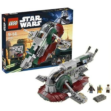 Amazoncom Lego Star Wars Slave I 1 8097 New With 3 Minifigures