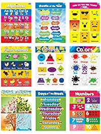 Educational Charts & Posters | Amazon.com | Office & School ...