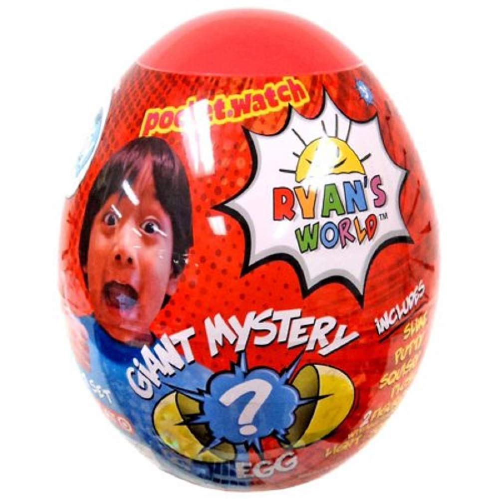 Ryan's World Surprise Mystery Egg, Red