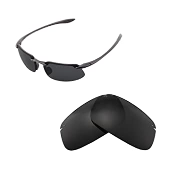 51fa6e8cac Walleva Replacement Lenses For Maui Jim Kanaha Sunglasses - Multiple  Options (Black - ISARC Polarized