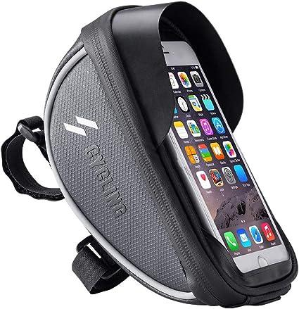 Wasserdicht Fahrradlenker Tasche Handyhalterung Fahrrad Tasche Rahmentaschen