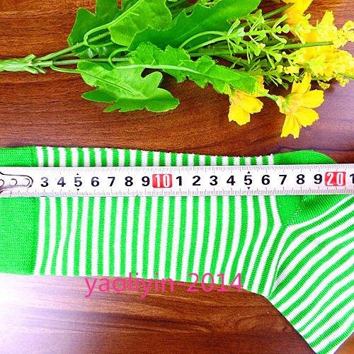 Minishop (tm) De Mens Chaussettes De Coton Beaucoup Rayures Classiques Chaussettes Tenue Décontractée 20 * 20cm Awz66