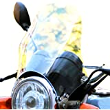 WAIWAIGOODS スクリーン カウル 風防 バイク 汎用 メーター バイザー