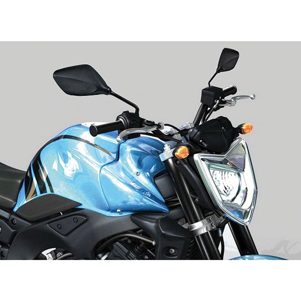 ViZe 10mm Retrovisores Moto Laterales Universal Espejos Moto Para Moto Scooter Street Bikes Sport Bikes Todo a la DERECHA