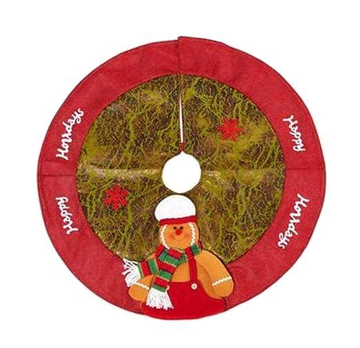 24station [D] Precioso árbol de Navidad Falda Árbol de Navidad ...