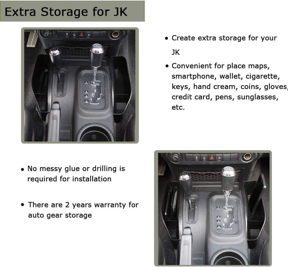BulbForst Glove Box Organizer Storage for Toyota Tacoma 2016-2020 Tacoma Inside Accessories