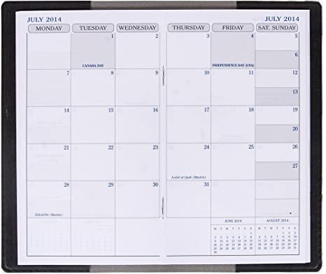 Calendario Anno 2015.Exaclair Quo Vadis Calendario 2014 2015 Anno Refill