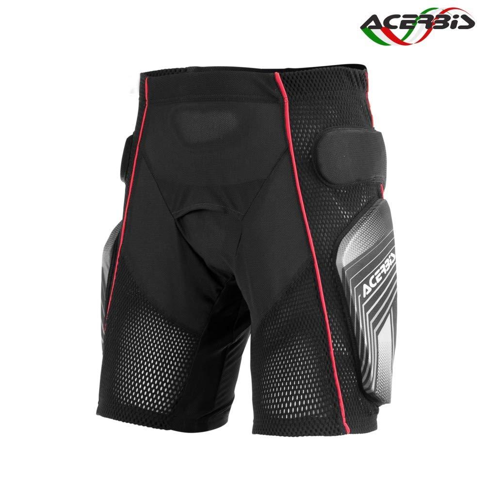 0017174.319.066 Acerbis Soft 2.0 Shorts schwarz//grau Gr/ö/ße L