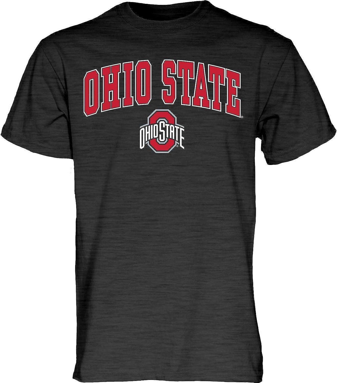 Blue84 NCAA mens T Shirt Dark Heather Arching Over