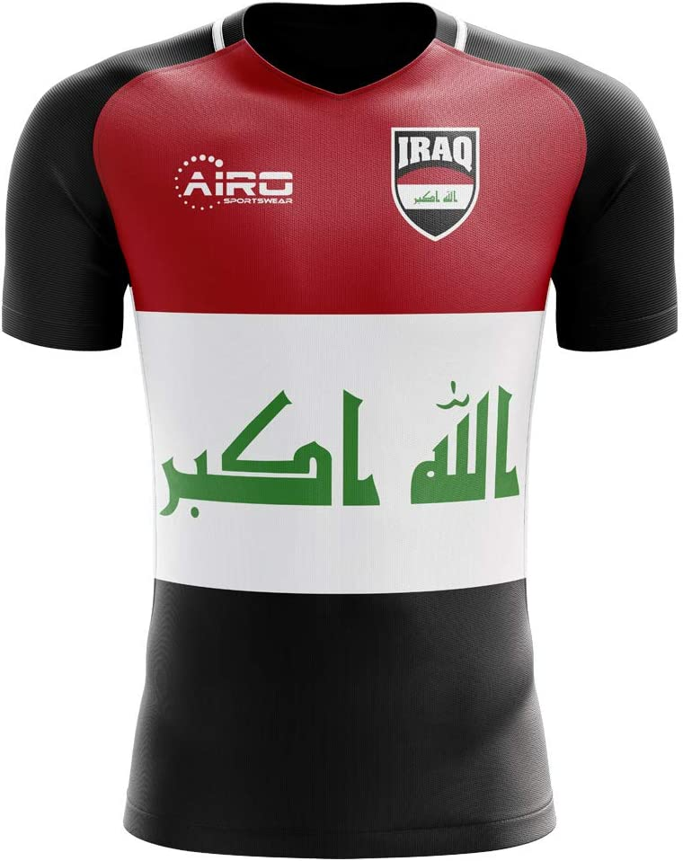 Airosportswear 2020-2021 Iraq Home Concept Football Soccer T-Shirt Jersey - Baby