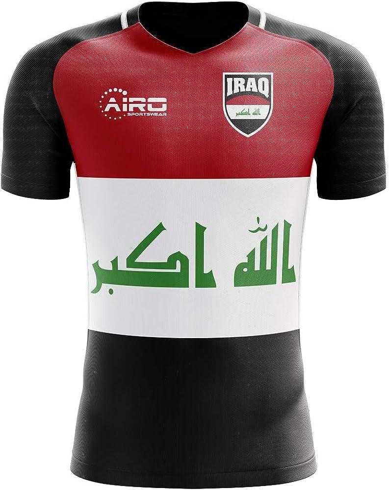 Airosportswear 2020-2021 Iraq Home Concept Football Soccer T-Shirt Jersey