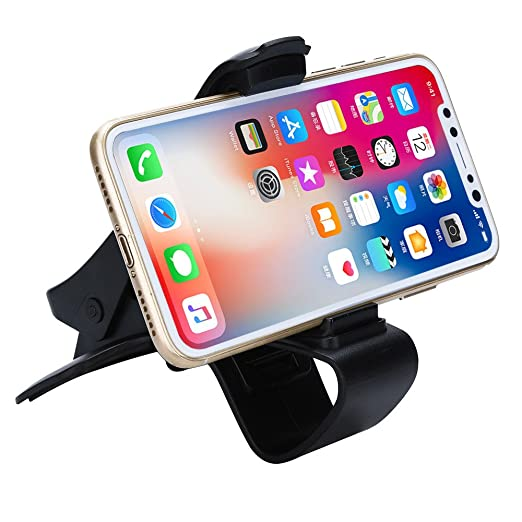 bb444a69432 Amazon.com  📱Jonerytime📱Universal Clip On Car HUD GPS Dashboard Mount  Cell Phone Holder Non-Slip Stand  Clothing
