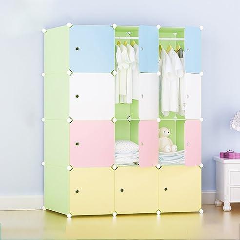 Kinderschlafzimmerschrank Montage einfache Kombination Schrank ...