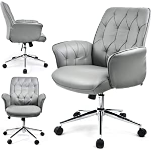 Amazon.com: Furmax High Back Office Desk Chair Conference ...