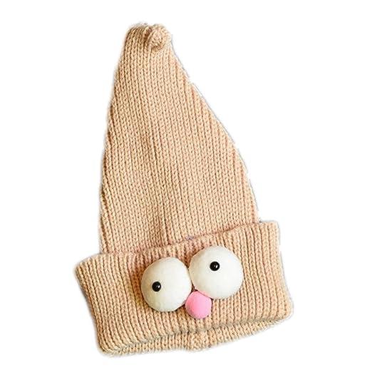 Da.Wa 1X Caqui Ojos Grandes Bebé Gorro Navidad Sombreros ...