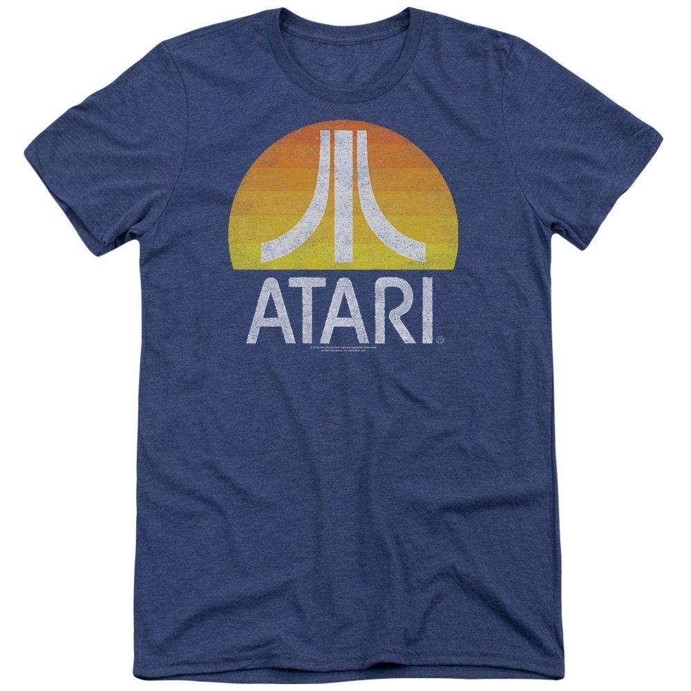 Atari - T-shirt - Manches Courtes - Opaque - Homme bleu bleu Trevco