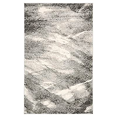 Safavieh Retro Collection RET2891-6065 Modern Abstract Light Blue and Blue Area Rug 5' x 8'