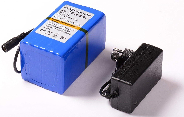 aftertech Paquete batería 24V, 10000mAh 24V Recargable Litio f2e5