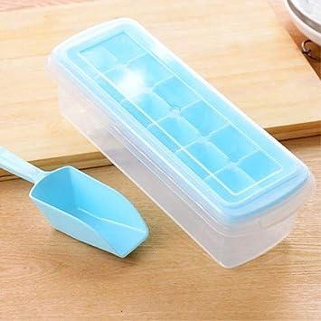 Molde de hielo 12/18 rejillas de fácil extracción, caja de ...