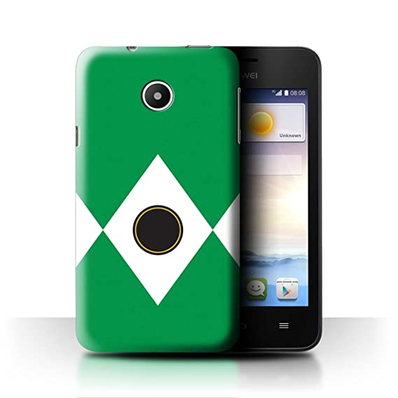 Amazon com: STUFF4 Phone Case/Cover for Huawei Ascend Y330 / Green