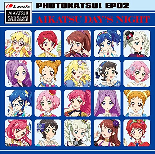 Star Anis, Aikatsu Stars! - Aikatsu! Photo On Stage!! (App Game) Split Single Photo Katsu! Ep 02 [Japan CD] LACM-14529