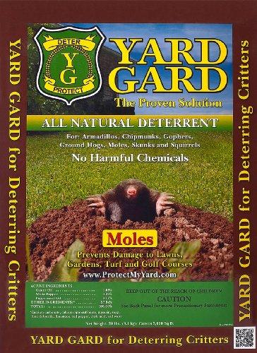Natural Mole Repellent (Yard Gard Organic Mole Repellent 20lb)