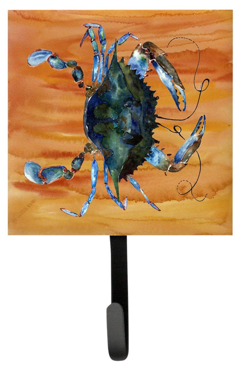 Small Carolines Treasures 8143SH4 Crab Leash Holder or Key Hook Multicolor